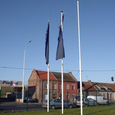 Mâts Drapeaux Services Service De Pose Spécialiste Pavoisement - Mat porte drapeau